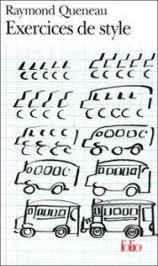 Exercices de style de Raymond Queneau dans Avis littéraires couv35385875-178x300