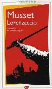 Lorenzaccio de Alfred de Musset dans Avis littéraires couv22166241-177x300
