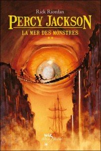 Percy Jackson, tome 2 : La Mer des Monstres de Rick Riordan  dans Avis littéraires couv51919120-201x300