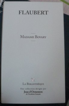 Madame Bovary de Gustave Flaubert  dans Avis littéraires couv52967645